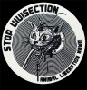 STOP VIVISECTION - ANIMAL LIBERATION NOW! - PVC-Aufkleber